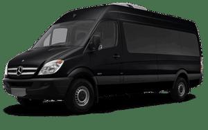 Фотография автобуса черного цвета для перевозки людей на похоронах - 1 фото