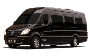 Фотография автобуса черного цвета для перевозки людей на похоронах - 2 фото