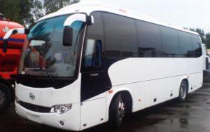 Фотография автобуса для перевозки людей на похоронах - 8 фото