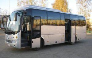 Фотография автобуса для перевозки людей на похоронах - 7 фото