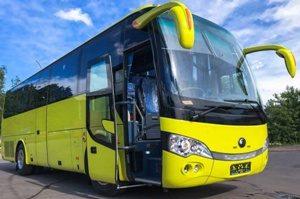 Автобус YUTONG на 40 мест желтый